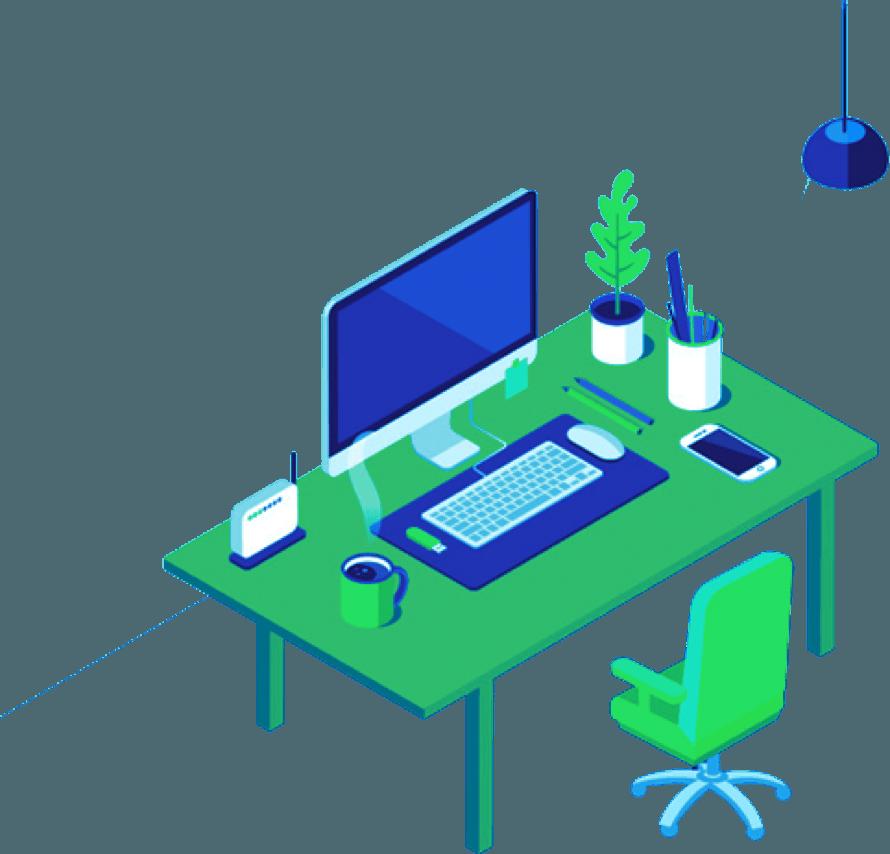 Blog-desk-Illustration