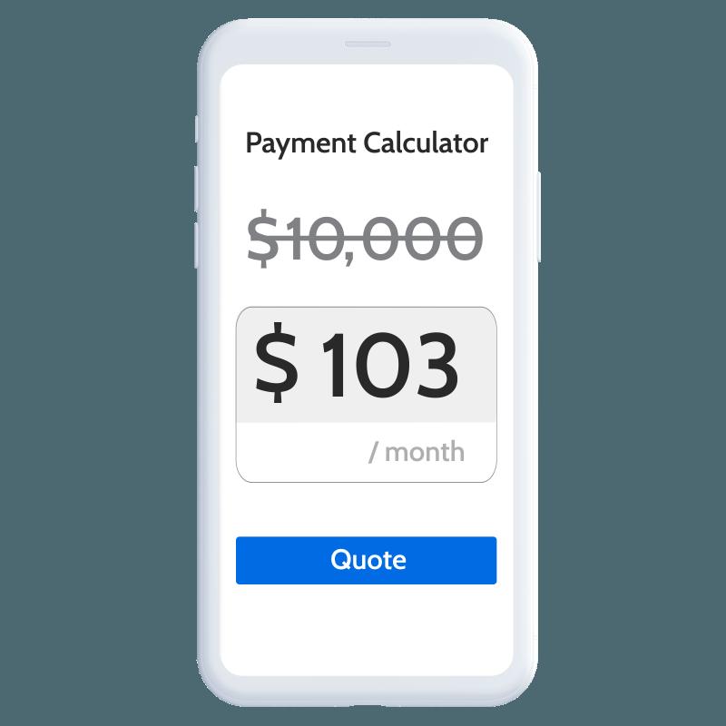 Payment calculator still