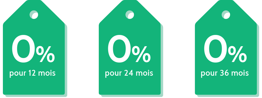O% interest french