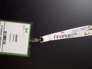 WinDoor Lanyard with Financeit Logo