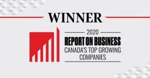 2020 Canada's Top Growing Companies Winner logo
